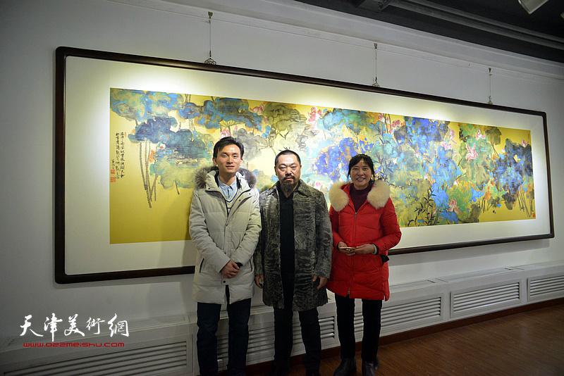 同窗问道——李旭飞、徐展、刘金凯中国画作品展