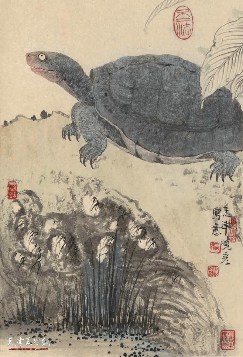 清俊淡雅,意趣天成-著名画家张晓彦2018戊戌台历欣赏