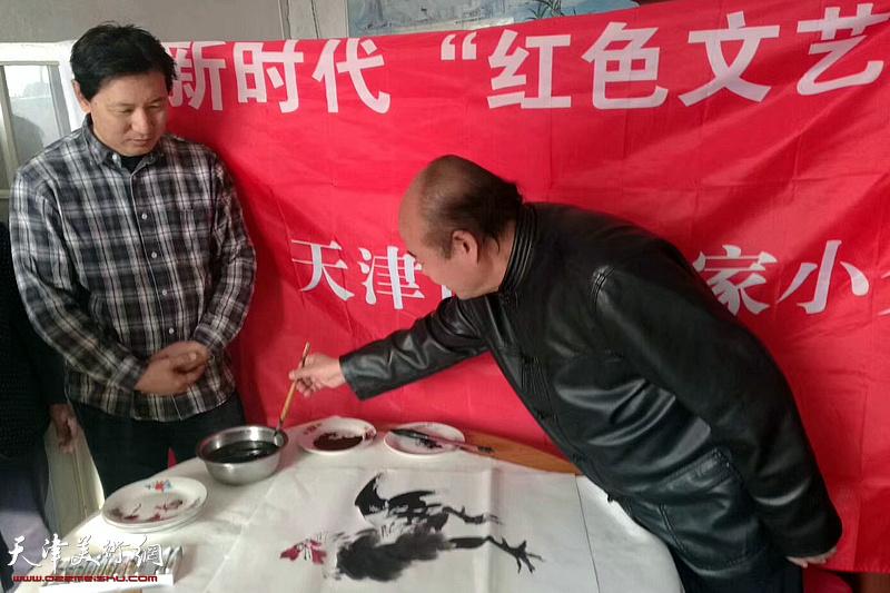 """天津市文艺界新时代""""红色文艺轻骑兵""""小分队2018""""文艺进万家""""活动全面启动"""