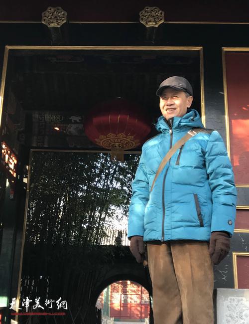 田中荃先生近影。