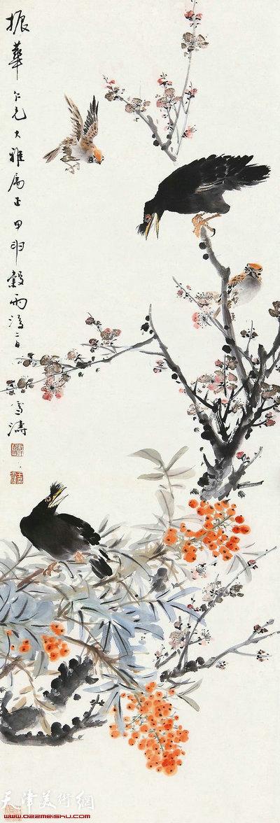 王雪涛《鸟语花香》