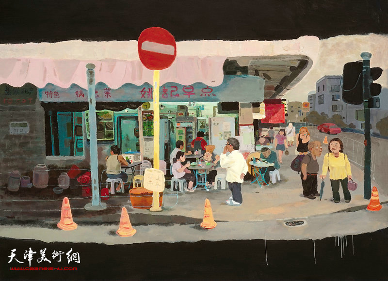 《日子》之三200cmx150cm布面油画2017