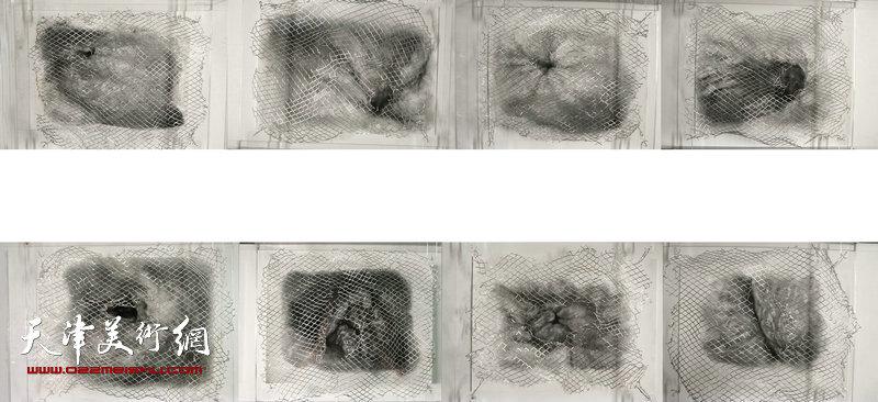 油画专业-张晓彤-《回》素描作品