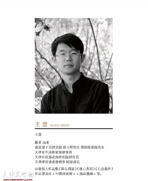 青年画家王盟2018年台历