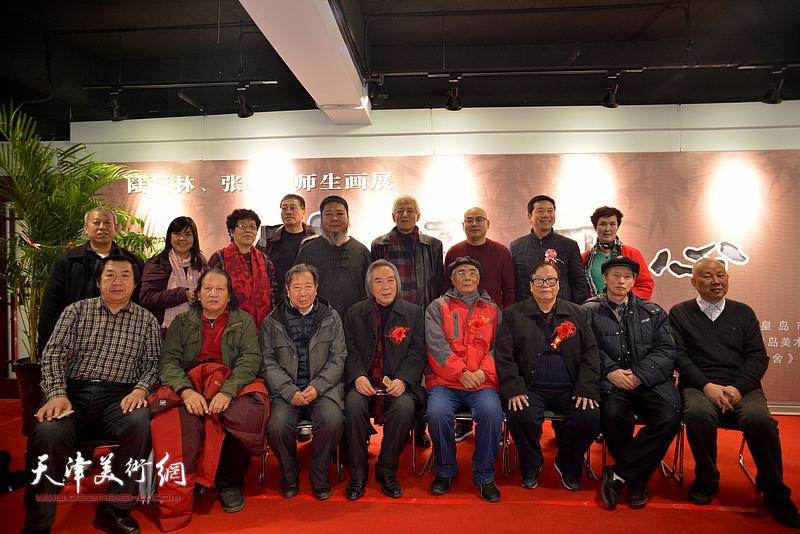 陆福林、张法东与张浦生、霍春阳、曹春生、赵海鹏、董铁山、赵运