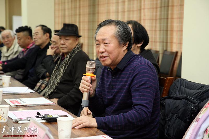 """""""天津二JI""""荣获2017中国书画十大年度人物座谈会"""