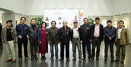 秋色彩韵-水彩画八人新作展在天津图书馆开展