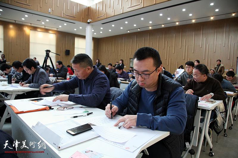 天津市职工汉字书写大赛