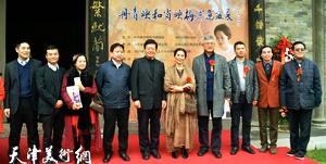 """""""丹青映和""""肖映梅中国画作品展在扬州八怪纪念馆举行"""