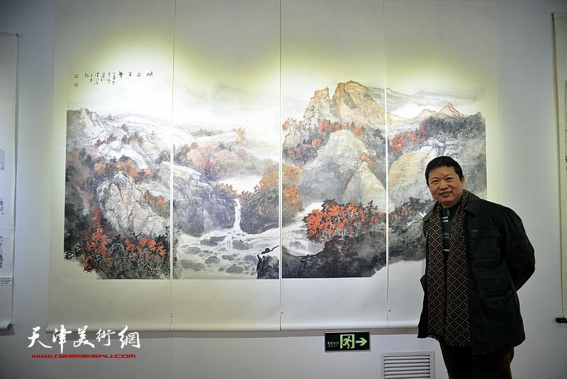 万象澄明—天津市政协山水画艺术研究院迎新春名家邀请展