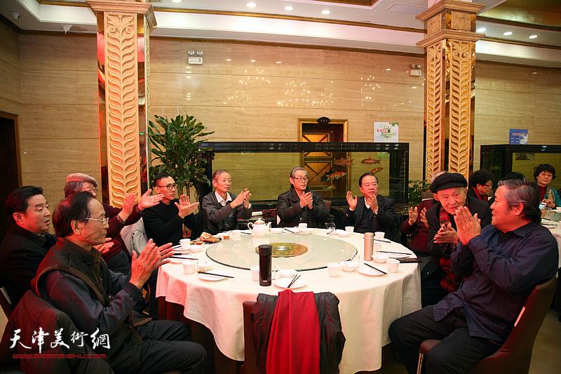 津东书画院庆祝建院25周年