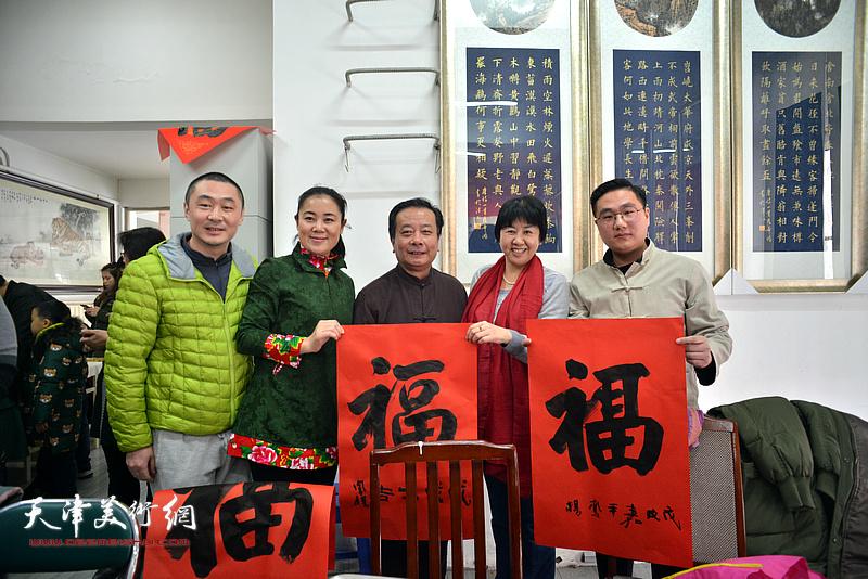 民建天津市委会直属工委2018年首次会员活动日现场。