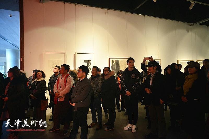 """""""中国水墨现场·天津2018""""开幕仪式现场。"""