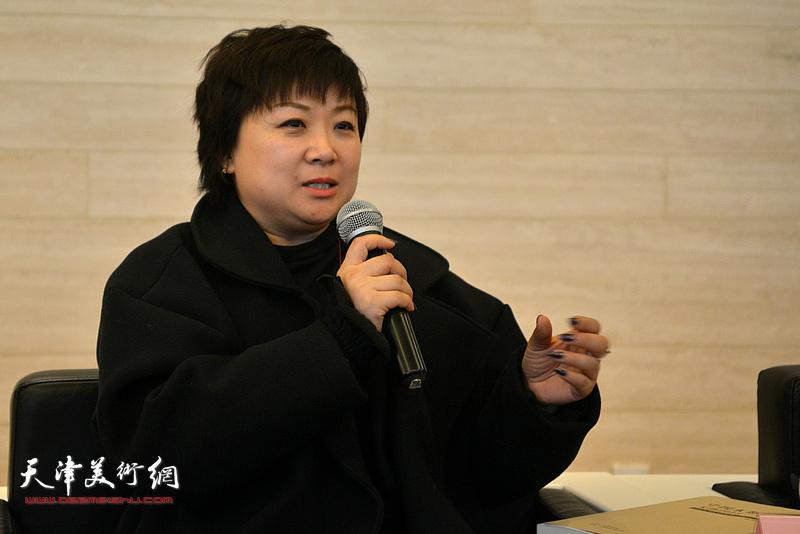 九思文化传播有限公司总经理于晓鸿发言。