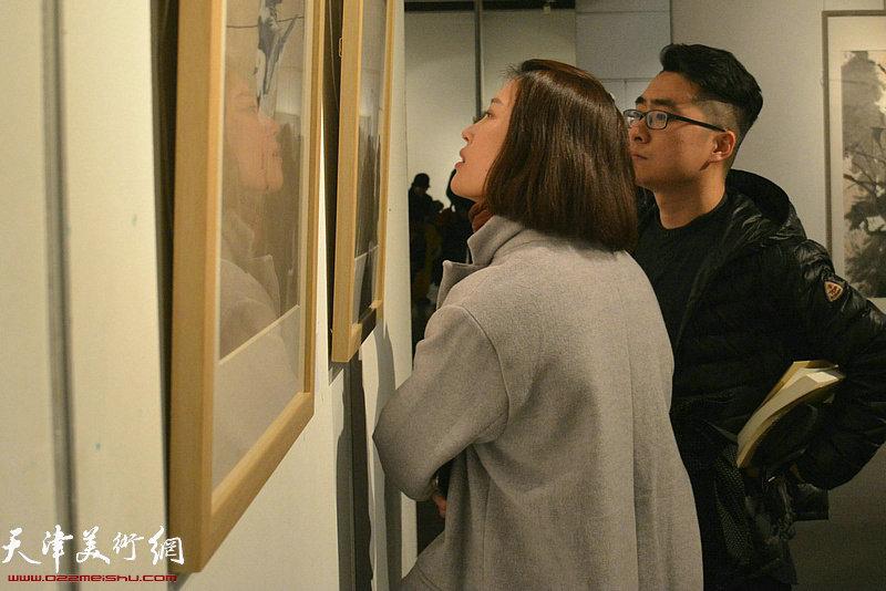"""""""中国水墨现场·天津2018""""1月28日在天津美术馆开幕。"""