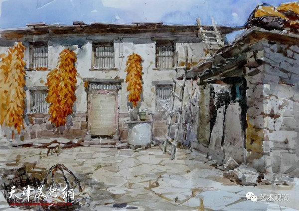 中国当代水彩系列研究展首展-天津高维星作品欣赏