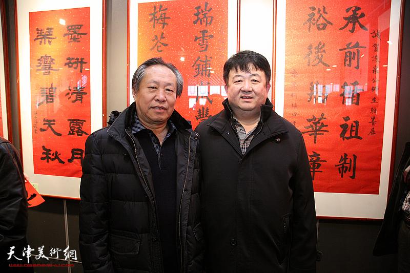 唐云来师生迎新春联墨展