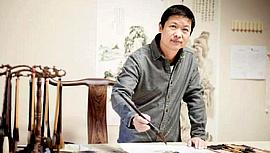 姜维群:诗意的水墨五大道第一人魏瑞江