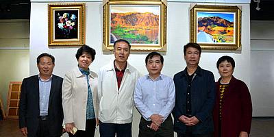 王文元油画、水墨、书法山东三地巡回展举行