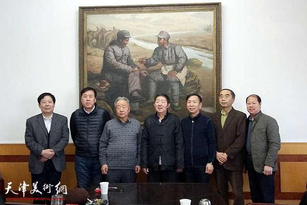 天津市书法家协会第三届主席团第十三次会议召开