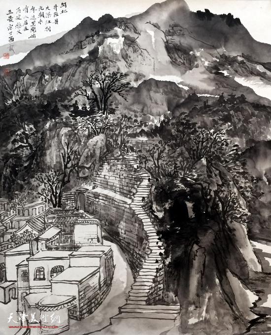 王爱宗中国画新作