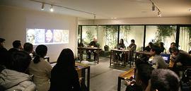 油画家于小冬做客竹间书院 分享古格壁画艺术