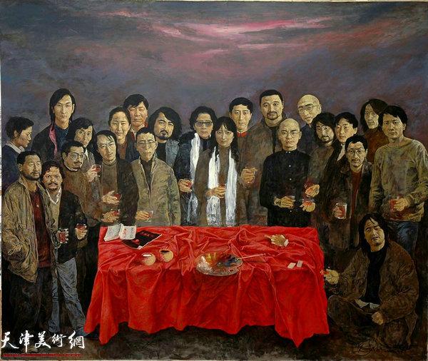 于小冬作品:《干杯西藏》