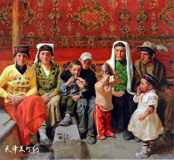 于小冬作品:《阿依莎汗的家人》