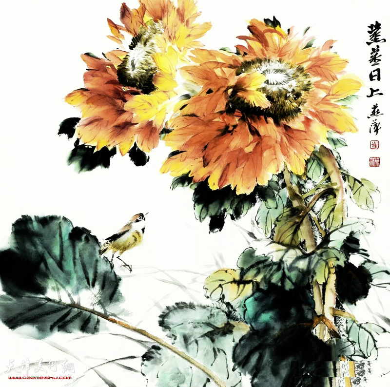 崔燕萍的向日葵