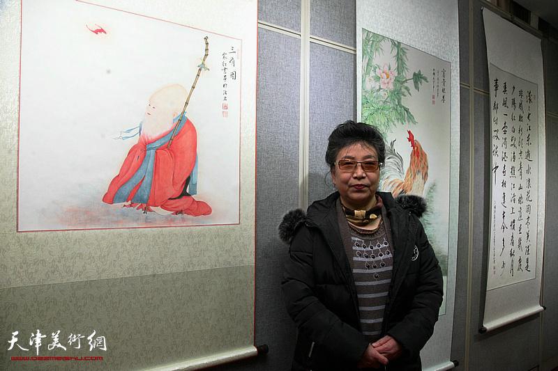 庆三八-天津女子画院第十四届国画精品展