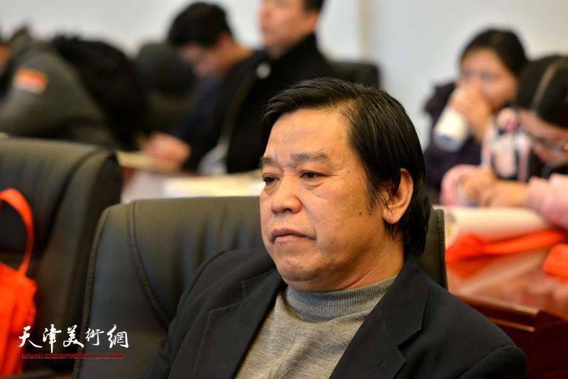 李耀春在孙其峰先生书画艺术学术研讨会现场。