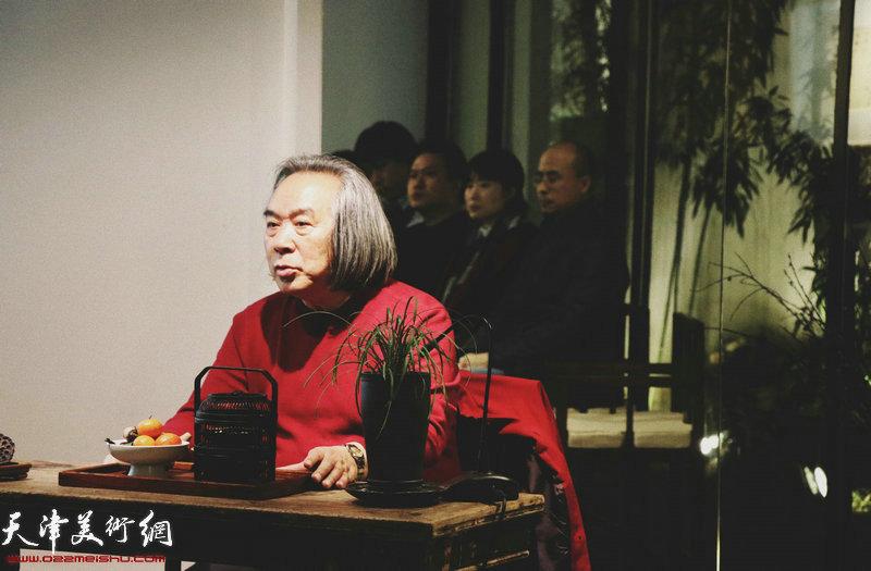 著名画家霍春阳做客竹间书院 畅谈传统文化精神与写意花鸟画艺术