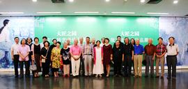 大匠之园-张京生、王元珍艺术作品展在天津美术学院开幕