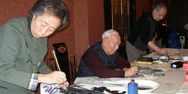 天津美院教授焦俊华 用画笔保护正在消失的文化遗产
