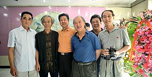 砚田耦耕—韩嘉祥姚景卿书画联展在天津文史馆开幕