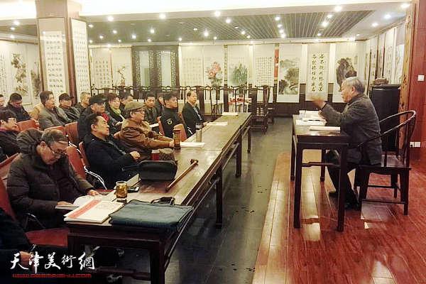 《唐云来师生迎春联墨展作品集》在天津首发