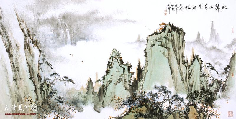 姜金军作品:水声山色意相娱