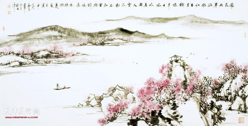 姜金军作品:襄邑道中