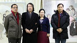于栋华博士毕业作品展在天津大学一得轩开幕