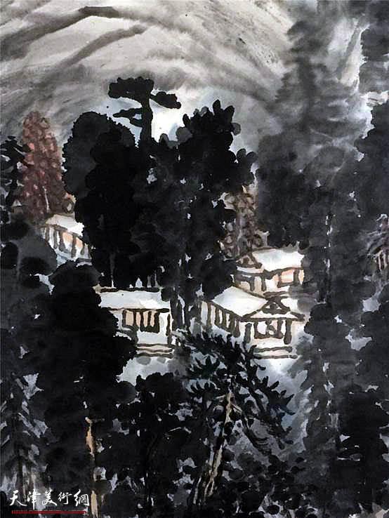 """天穆文体      高杰先生的作品曾获:""""香港回归一周年全国书画展""""银奖"""