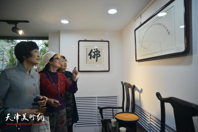 """""""观修文化鲁群先生个人精品书法展""""在重庆道观修堂举行"""