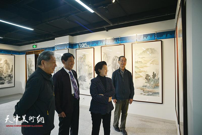 钱桂芳山水画教学成果展