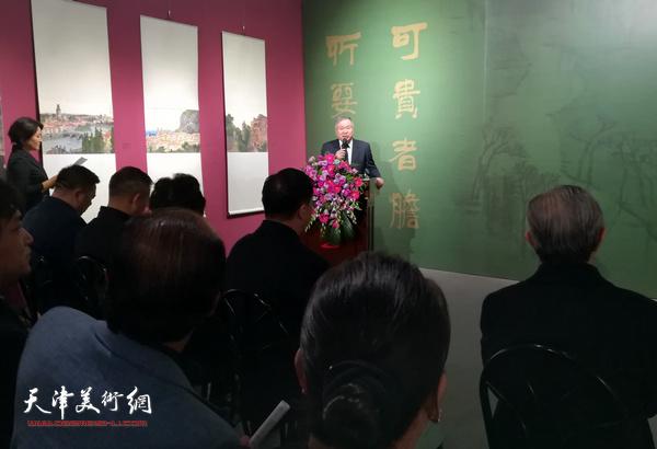 重走大师路欧洲写生作品展4日22日在李可染画院图形学美术馆开幕。