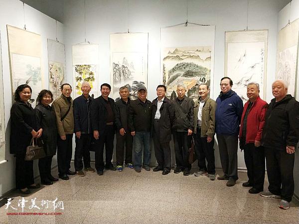 第十四届柳林画院艺术学院墨茗书画社书画联展