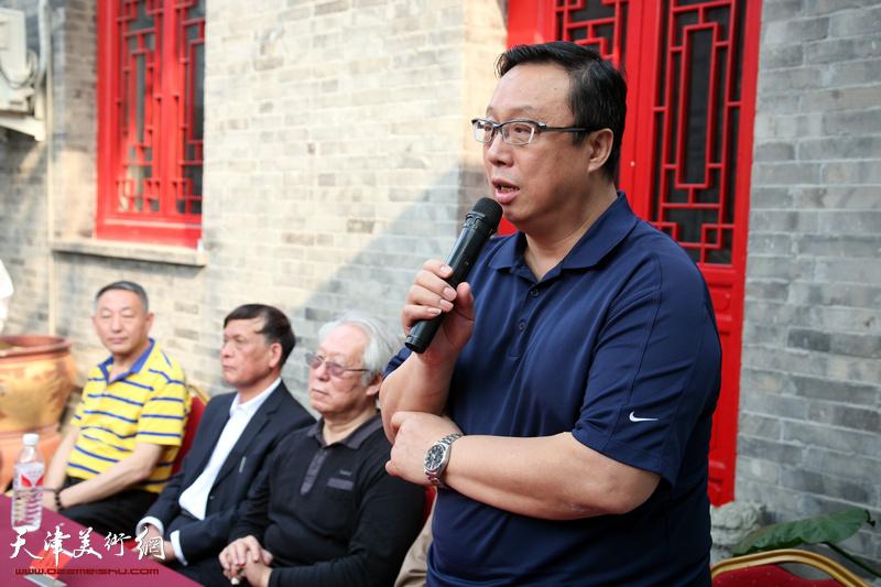 贾宝珉个人精品展在西青区七月美术馆开幕