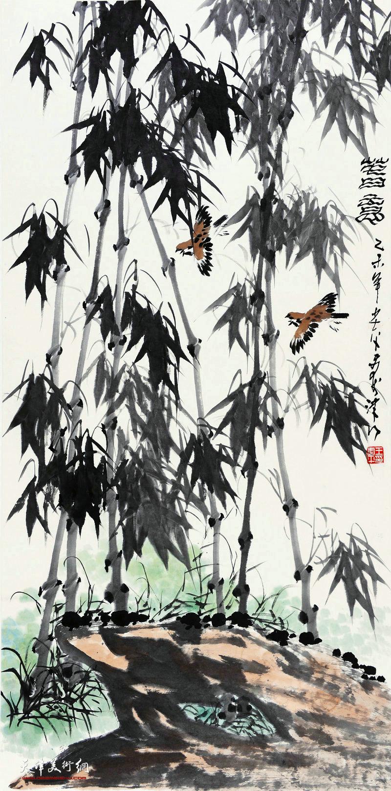王书平-春意68x138cm