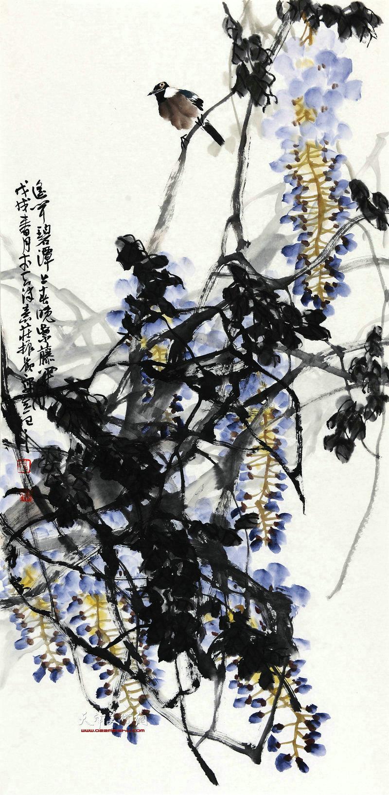 史振岭-春晖68x138cm