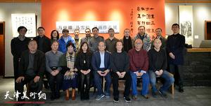 """""""马俊卿、马雪松2018最新博彩白菜大全作品展""""在十方雅集开展"""