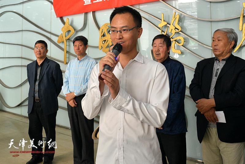 王炯智先生致辞。
