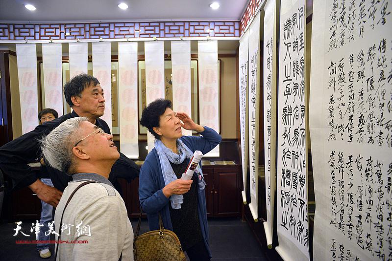 王炯智书画篆刻艺术大展在中国楹联博物馆开幕